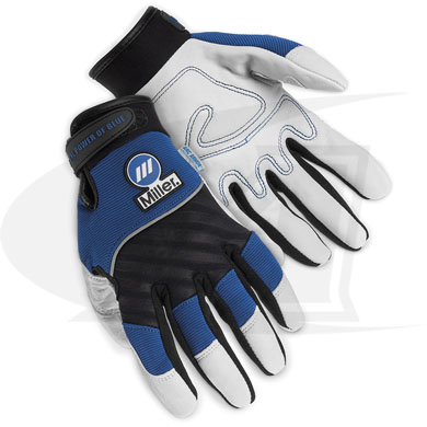Click to see larger version of Metalworker Gloves From Miller
