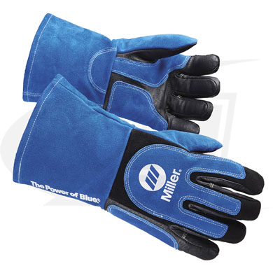 Click to see larger version of Heavy-Duty MIG/Stick Welding Gloves From Miller