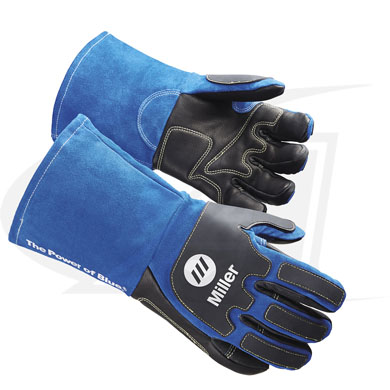 Click to see larger version of Extra Heavy-Duty MIG/Stick Welding Gloves From Miller