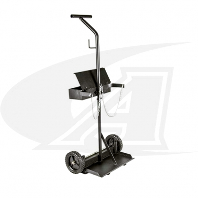 Click to see larger version of Medium Dual Cylinder Cart