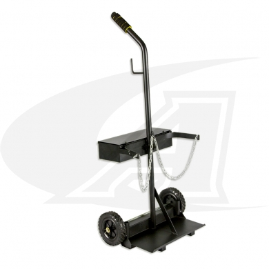 Click to see larger version of Small Dual Cylinder Cart