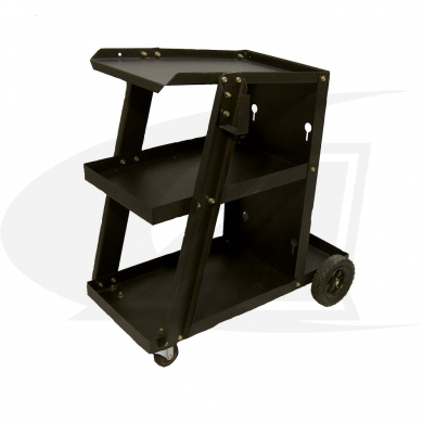 Click to see larger version of Triple Tier Welding Cart