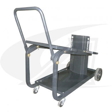 Click to see larger version of Small Universal Welding Cart W/ Folding Handle
