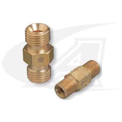"Click to see larger version of ""A\"" - \""A\"" Male Acetylene/Fuel Gas Coupler"