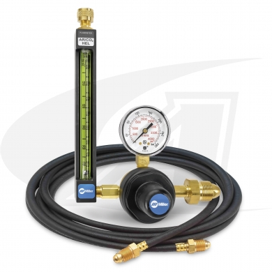Click to see larger version of Smith® Precision Series Flowmeter/Regulator - TIG - Gas Hose Kit