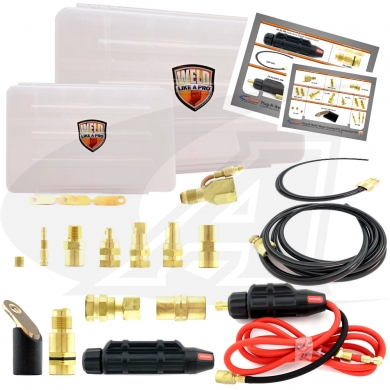 Click to see larger version of Plug-N-Weld™ Water-Cooled Connector Kit