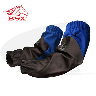 Click to see larger version of BSX Hybrid FR/Grain Pig Skin Welding Sleeves