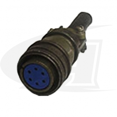Lincoln Six Socket Female Plug. For LN-7 Feeder