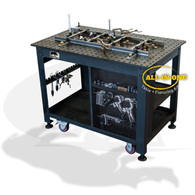 Click to see larger version of Rhino Cart Mobile Fixturing Station