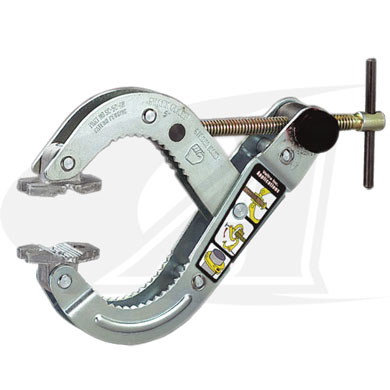 Click to see larger version of T-Handle Shark Clamp