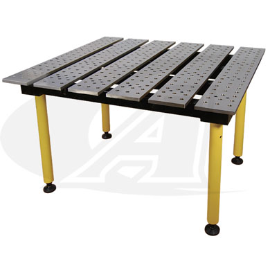 Click to see larger version of BuildPro™ 4\' (1.2m) x 3\' Welding Table - Standard Finish