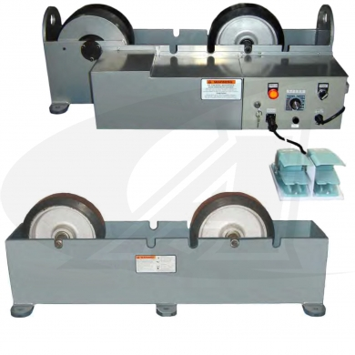 Click to see larger version of 5,000 lb Capacity Turning Roll Set