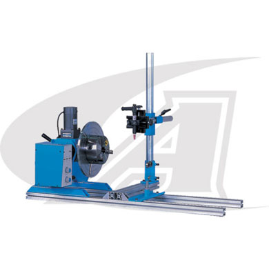 "Click to see larger version of R-Type DIY Welding Automated System Kit - 72"" Base Rail Length"