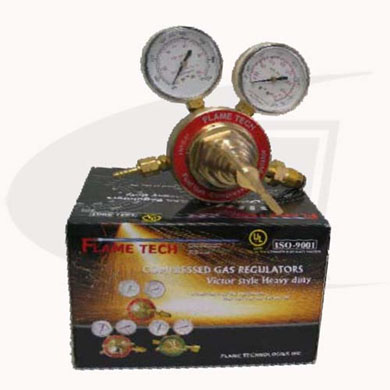 Click to see larger version of Heavy Duty Fuel Gas Regulator