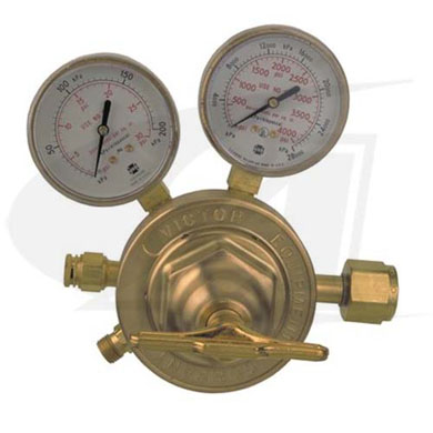 Click to see larger version of SR460 Single Stage Acetylene Regulator - CGA300