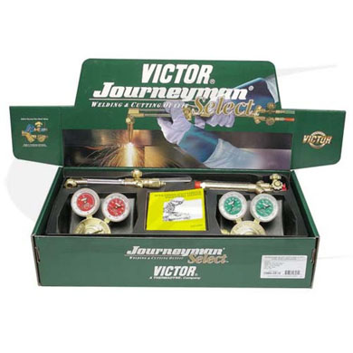 Click to see larger version of Victor® Journeyman Select Outfit W/ CGA 540/510 Regulators
