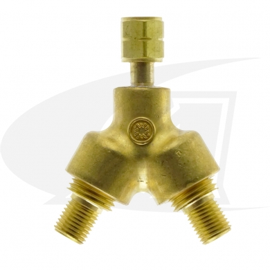 "Click to see larger version of ""A\"" Size Y Connector - Acetylene/Fuel Gas"
