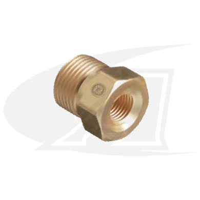 "1/4"" Female NPT Bushing -to- CGA Cylinder Fittings"