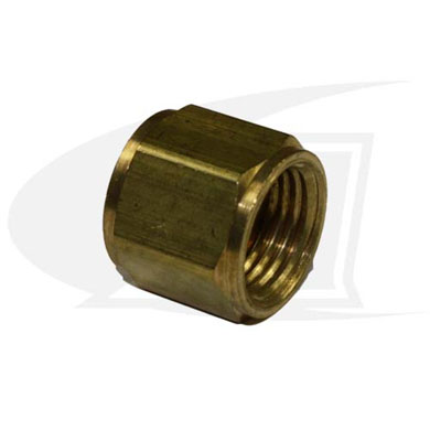 "Click to see larger version of ""A\"" Size Oxygen Hose Nut"