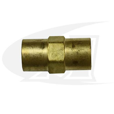 "Gas Coupler - 5/8""-18 Female-to-Female"