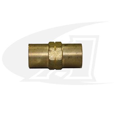 "Water/Industrial Air Coupler ""A\"" 3/8\""x24 LH Female-to-Female"