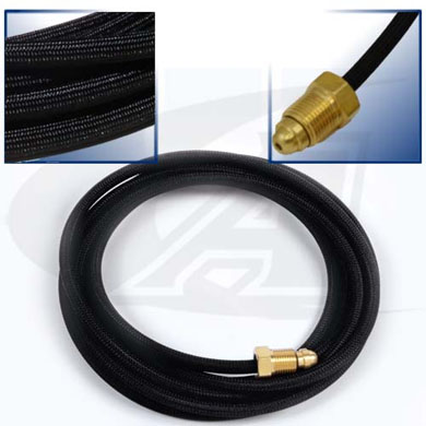 Click to see larger version of 12.5\' (3.8m) Rubber Gas Hose