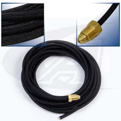 Click to see larger version of 25\' (7.6m) Rubber Gas Hose
