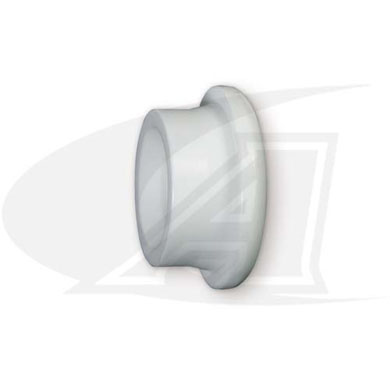 Click to see larger version of Large Teflon Gas Lens Insulator
