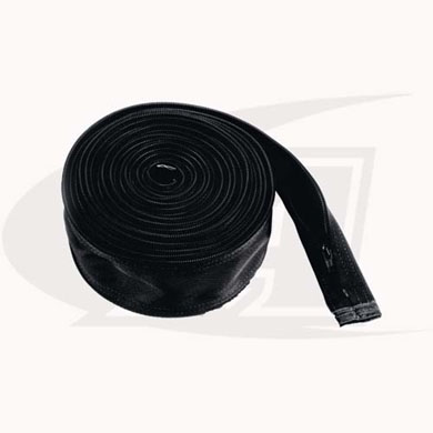 "Click to see larger version of Ballistic Nylon Cable Cover 3"" Wide x 48\' Long"