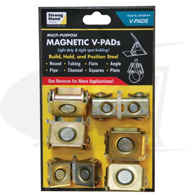 Click to see larger version of Adjustable Magnetic V-Pads Kit