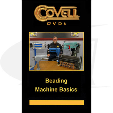 Click to see larger version of Beading Machine Basics DVD with Ron Covell