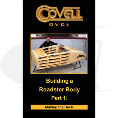 Click to see larger version of Building a Roadster Body - Part 1 - DVD with Ron Covell