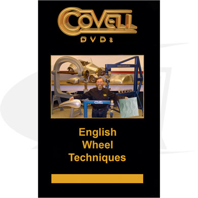Click to see larger version of English Wheel Techniques DVD with Ron Covell