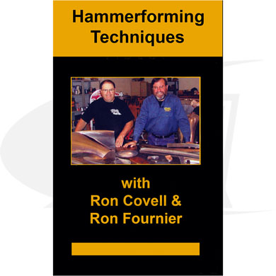 Click to see larger version of Hammerforming Techniques DVD with Ron Covell