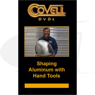 Click to see larger version of Shaping Aluminum with Hand Tools DVD with Ron Covell