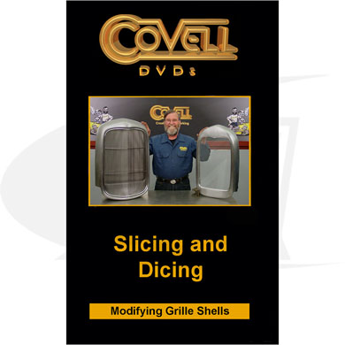 Click to see larger version of Slicing and Dicing DVD with Ron Covell