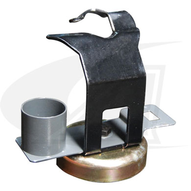 Click to see larger version of MIG Gun Holder W/ Accessory Plate