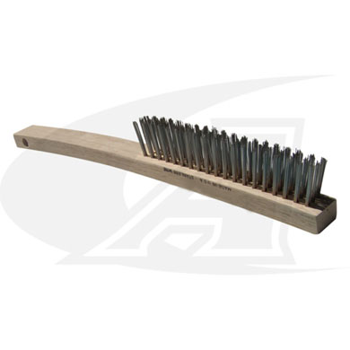 Large, Stainless Steel Scratch Brush