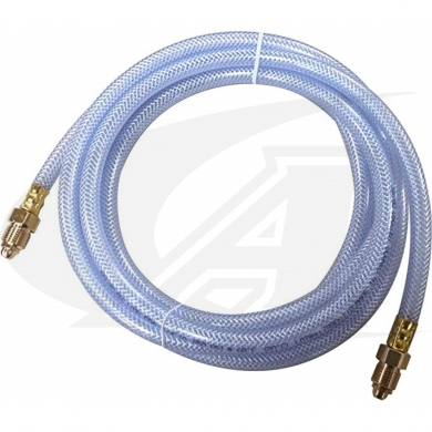 "Clear 1/4"" Inert Gas Hose 12.5\' (3.8m)"