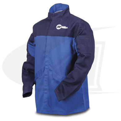 Click to see larger version of Miller\'s Indura® Cloth Welding Jacket
