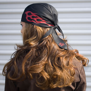 Click to see larger version of FireRag™ FR Doo Rag