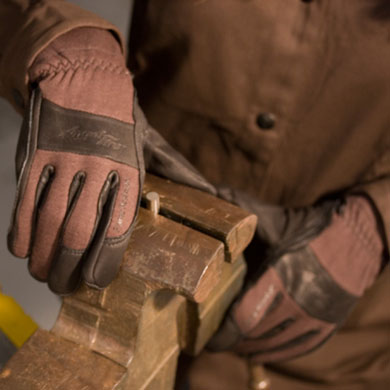 Click to see larger version of Firefly™ Women's Premium Flame Resistant, TIG Welding Gloves