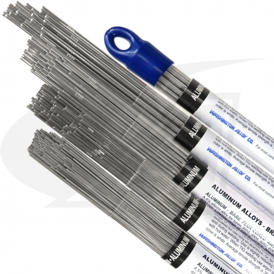 Click to see larger version of ER4043 - Aluminum / Silicon TIG Welding Rod - 1lb. Pack
