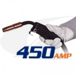 Click to see larger version of 450 Amp Tweco® Style MIG Gun - Heavy Duty