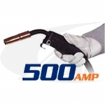 Click to see larger version of 500 Amp Tweco® Style MIG Gun