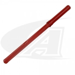 "Rod Guard® 36"" (0.9m) TIG Welding Wire Container -- Red"