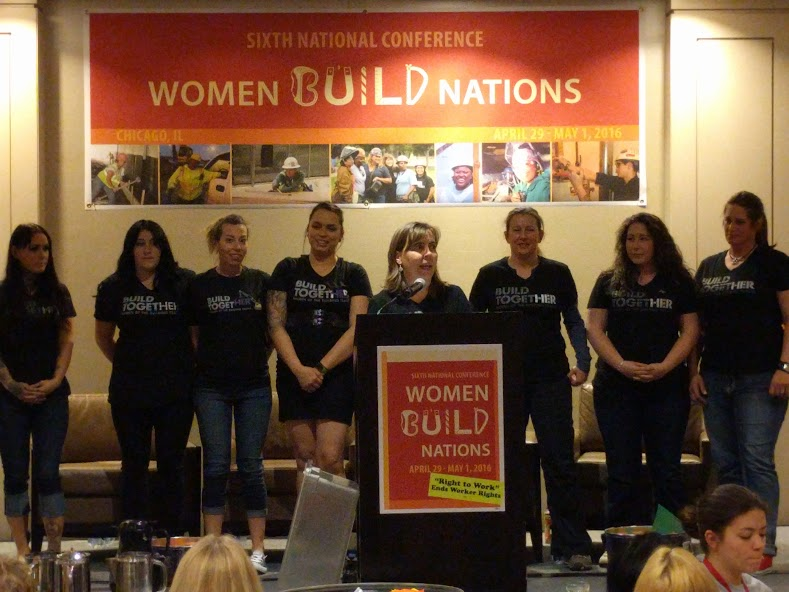 Women Build Nations conference