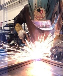 MIG Welding in Proper Welding Safety Gear