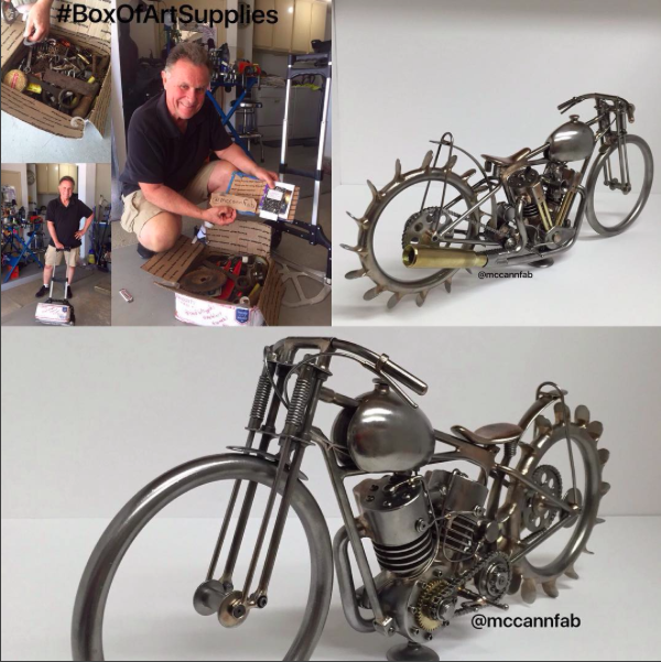 Bill McCann's TIG welded bikes