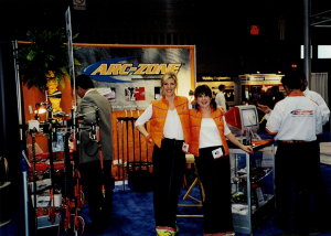 Fabtech welding Trade show, iMac 1998, Women in welding